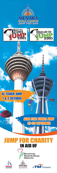 KL International Tower Jump 2005