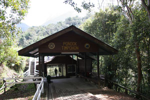 Mount Kinabalu - Trail start at Timphon Gate