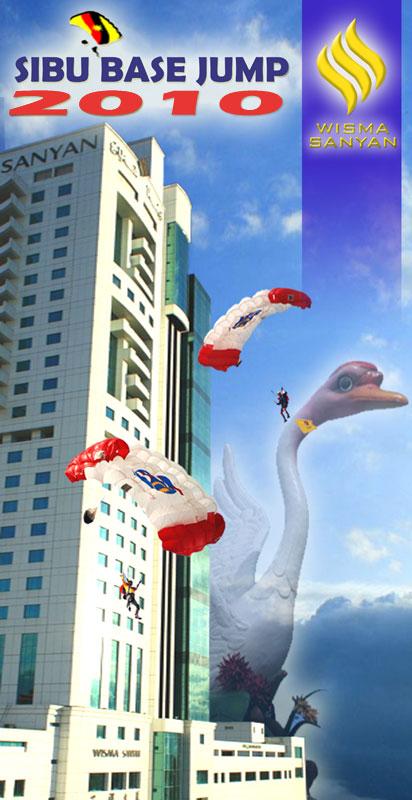 Sibu BASE Jump 2010 Banner